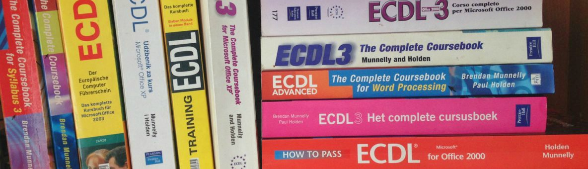 ECDL Books Desktop 1