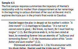 Hamlet: Model Essays for Students- Sample 1