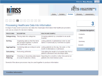Health Informatics / Digital Healthcare: Brendan Munnelly - Sample 6