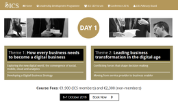 Website for ICS Leadership Development