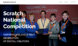 Website for Scratch Competition
