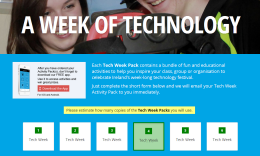 Website for Tech Week 2016: Registration