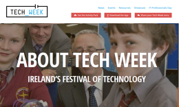 Website for Tech Week 2016